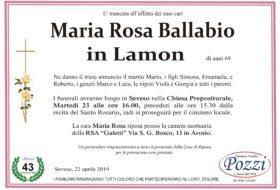 Ballabio Maria Rosa
