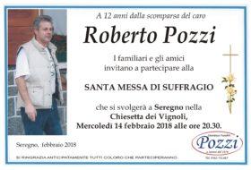 Messa di suffragio Roberto Pozzi