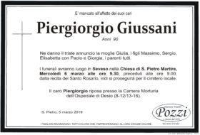 Piergiorgio Giussani